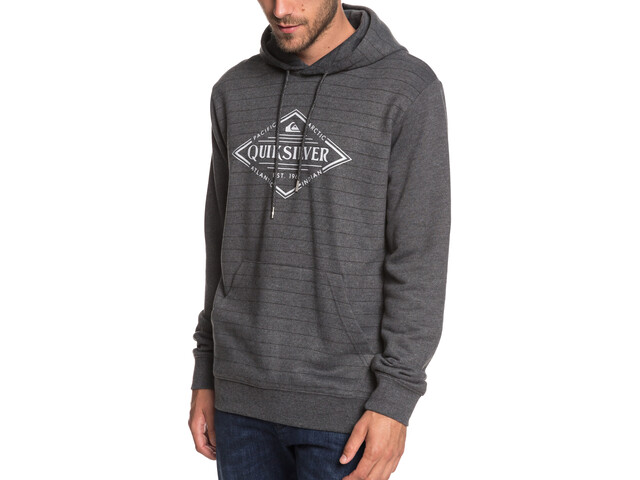 Quiksilver X Elite Veste polaire à capuche Homme, mgh screen hoodie stripes